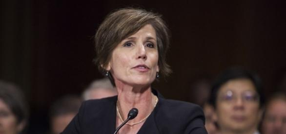 Fromer acting Attorney General Sally Yates will testify in May / Photo by Anadolu Agency, Time.com via Blasting News library