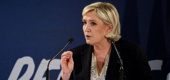 Marine Le Pen is a far right-wing candidate/Photo via inquisitr.com