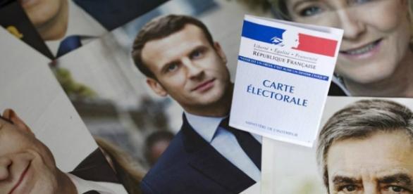 Marine Le Pen y Emmanuel Macron lideran los sondeos de las elecciones francesas