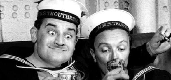 Ronnie Barker's (left) memory honoured by comedy lecture