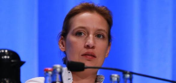 Alice Weidel, AfD. (Source URG Suisse: metropolico.org / flickr / CC BY-SA 2.0)