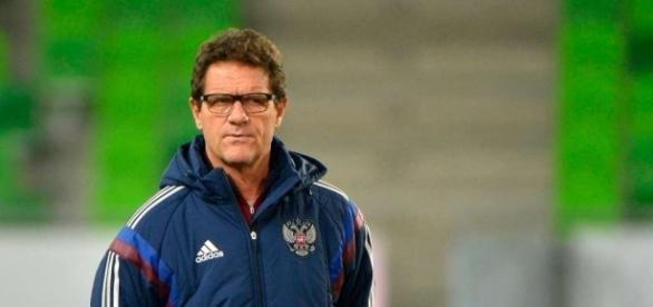 Fabio Capello, durante su etapa como seleccionador de Rusia