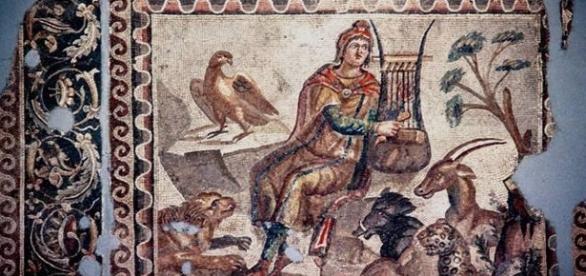 Registro grego de Orfeu e o poder musical de sua lira
