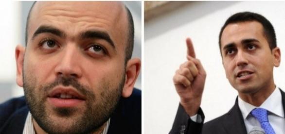 Sfida all'ultimo tweet tra Di Maio e Saviano sul tema immigrazione