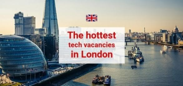 The hottest tech vacancies in London - Photo by author