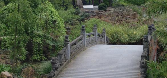 Zentrum der landschaftlichen Harmonie als Ort der Stille
