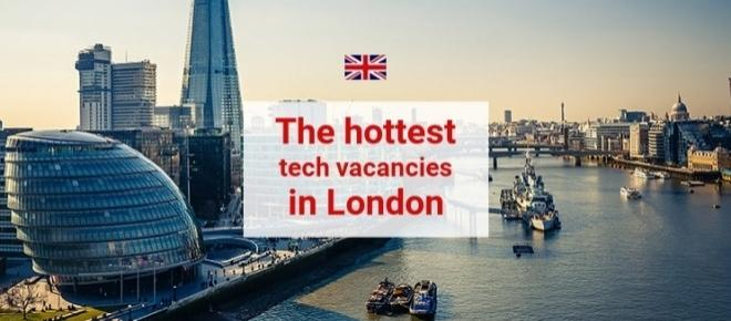 Looking for a job in a London startup? Don't miss these offers