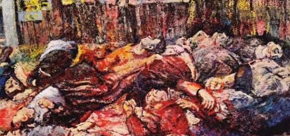 Aligi Sassu, Martiri di Piazzale Loreto (1944)