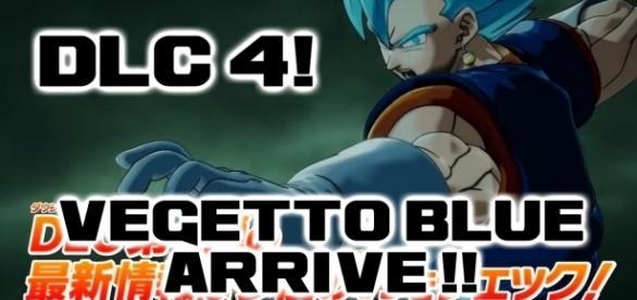 DLC 4 de Xenoverse 2 ! Vegetto Blue arrive !