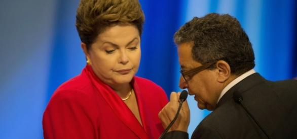 Foto: R7 Dilma e João Santana.