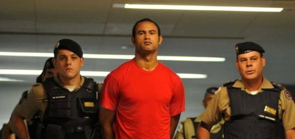 Goleiro Bruno foi solto em fevereiro.
