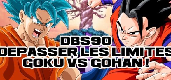 DBS 90 : Dépasser les limites, Gokû contre Gohan !