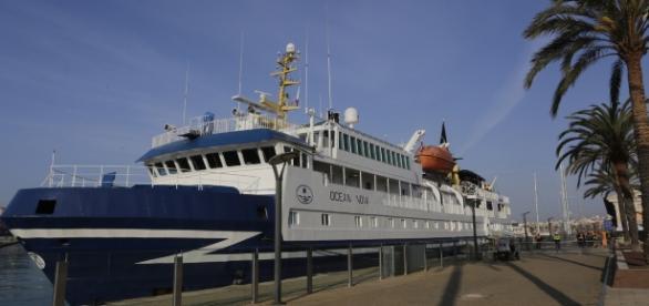El flamante Ocean Nova regresa al puerto catalán