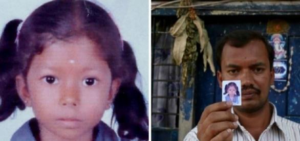 Harshitha, de seis anos, foi encontrada em decomposição