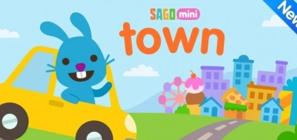 'Sago Mini Town' was released in April of 2017 making it the latest game from the company. / Photo via Blasting News and Twitter