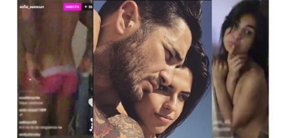 Sofía y Hugo se desnudan en vivo.