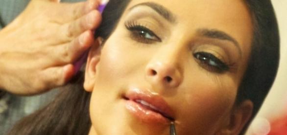 source wikimedia Kim Kardashian fat-shamed on big butt