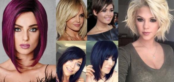 Tipi di taglio capelli medi