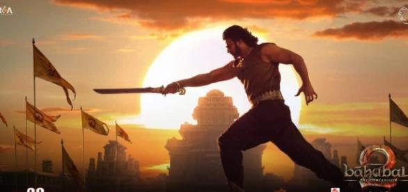 A still of Prabhas from 'Baahubali: The Conclusion' movie