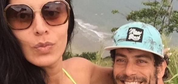 Casal iniciou namoro no reality a 'Fazenda 7'
