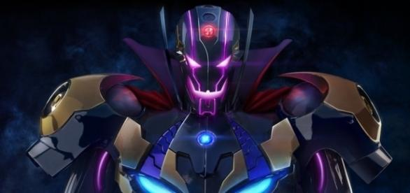 Marvel's Ultron plus Capcom's Sigma equals Ultron Sigma, main baddie of 'Marvel vs Capcom: Infinite'. | from 'HYPEBEAST' - hypebeast.com