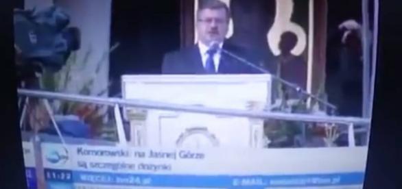Prezydent Bronisław Komorowski opowiada o wspaniałych czasach.