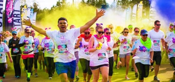 The Color Run, la course de 5K la plus colorée du monde.