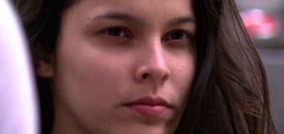 A ex-sister ficou empolgada por ter conversado com galã da Globo