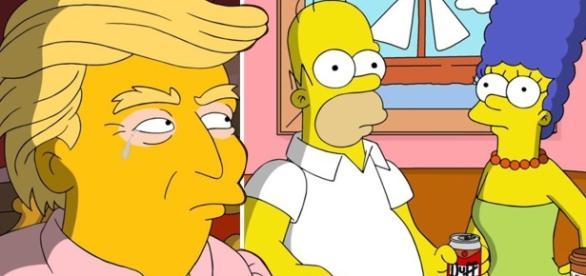 Los Simpson celebran los 100 días de Trump en la presidencia como ... - miquiosco.com