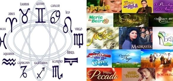 Novelas mexicanas identificadas através dos astros