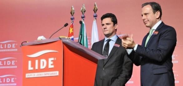 Prefeito de São Paulo, João Doria, fez fortes elogios ao juiz Sérgio Moro, durante entrevista à emissora de TV