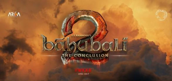 Title logo of Baahubli 2: The Conclusion
