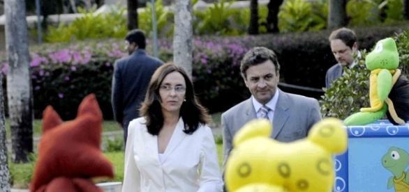 Andrea Neves, irmã do senador Aécio Neves, afirmou que não recebeu propinas proveniente dos cofres públicos