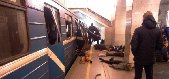 Explosão no metrô de São Petersburgo causou várias vítimas