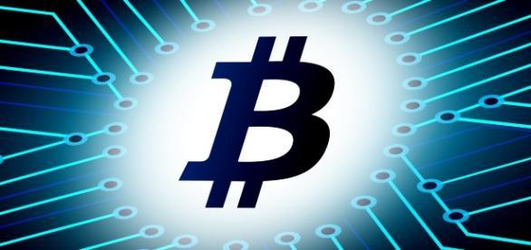 Logo de BitCoin. (www.stockvault.net)