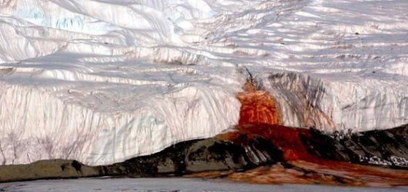 Antartide: risolto il mistero della 'cascata di sangue' - direttanews.it