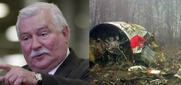 Lech Wałęsa, Smoleńsk, katastrofa