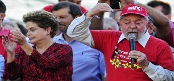 Lula e Dilma participam de ato em defesa do Polo Naval do RS