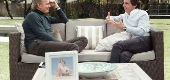 Aznar se sincera ante Bertín Osborne en una entrevista en profundidad - lavanguardia.com