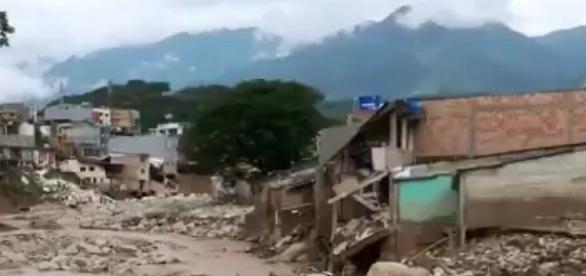 Barrio Los Pinos, uno de los más afectados por la avalancha