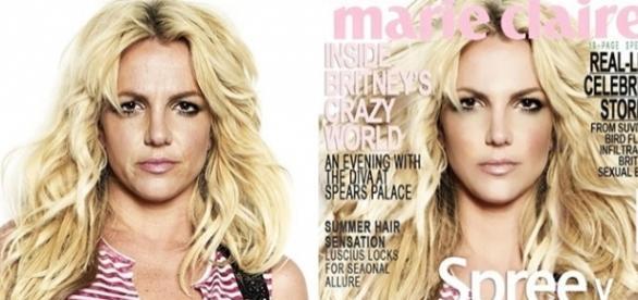 Britney Spears é uma das celebridades que passou por retoques no Photoshop.