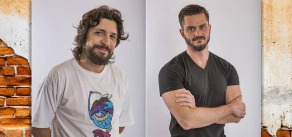 Marcos e Ilmar, antes amigos, agora são rivais e disputam a preferência do público