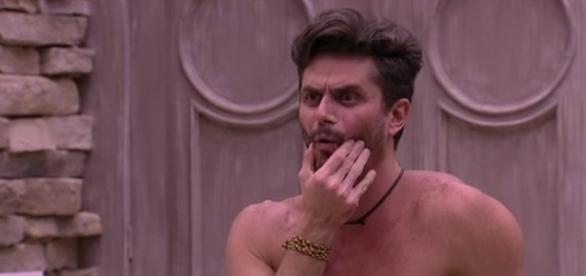 Médico ironizou forma física de brother. (foto: reprodução TV Globo)