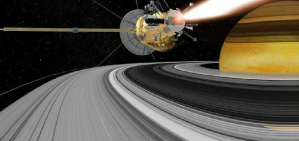 20-year-old Cassini spacecraft Will Soon Be Crashed into Saturn by NASA. Photo courtesy of Weather - weather.com