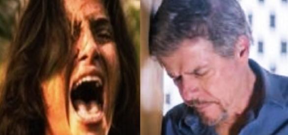 Camila Pitanga e José Mayer - Google