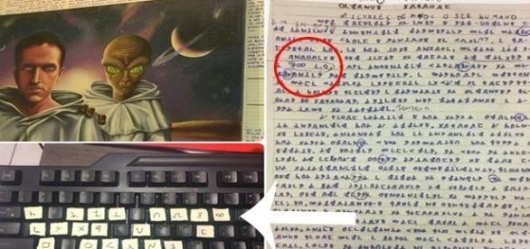 Especialistas conseguiram decifrar a mensagem deixada por Bruno