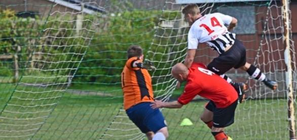 Hazlerigg net in pre-season. From the club official Facebook page.
