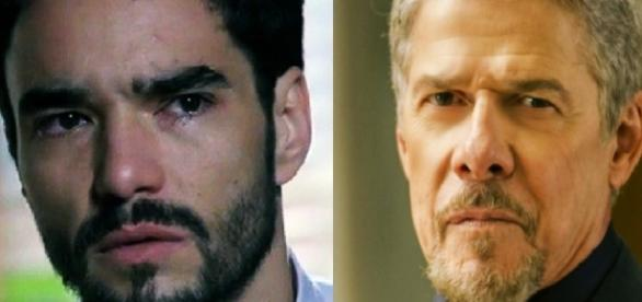José Mayer e Caio Blat - Imagem/Google