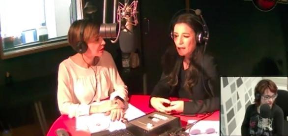 Paola Turci in diretta su Radio Capital