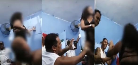 Prostituta dança em cadeia - Imagem/Google